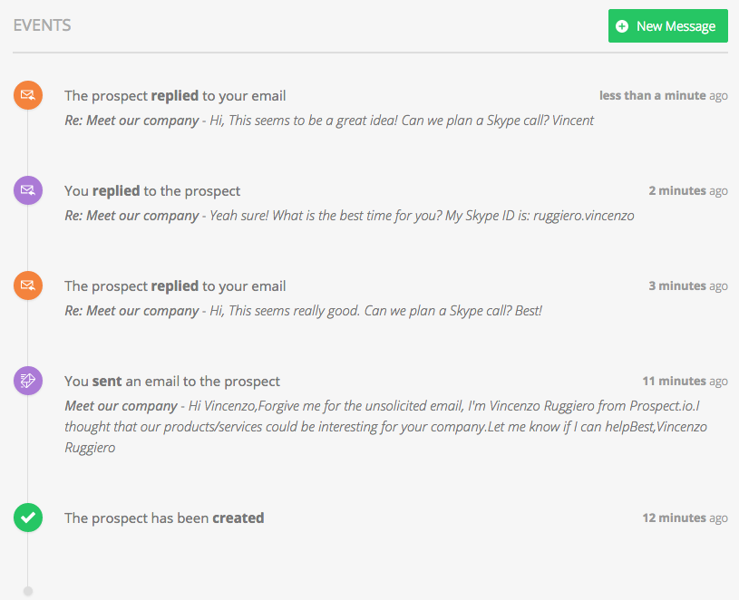 Prospect changelog as you can see bellow replies are also displayed in the application pronofoot35fo Images