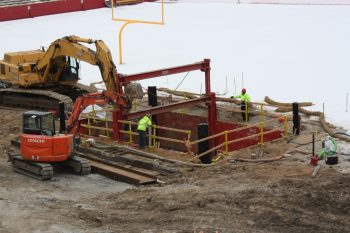 Jack Trice Stadium - Iowa State Slide Rail System