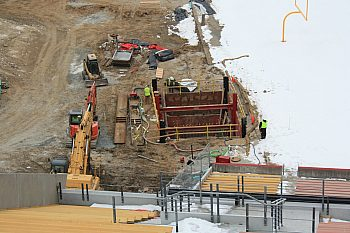 Slide Rail System - Jack Trice Stadium, Iowa State