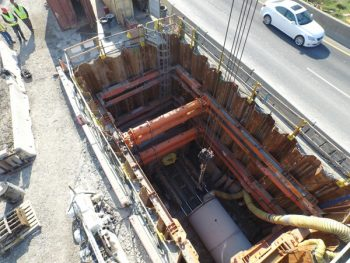 Tunneling Pit 1