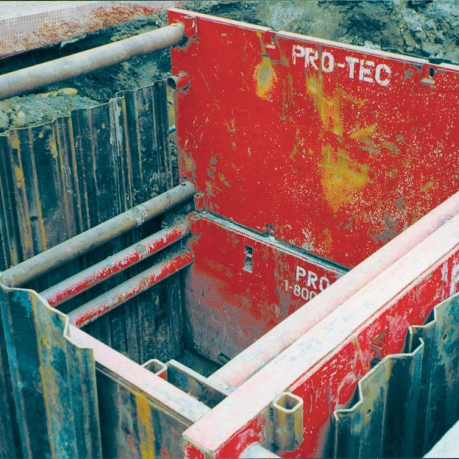 Overlap Sheet Pile | Pro-Tec Equipment