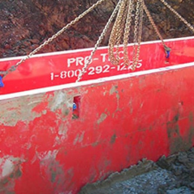 Steel Trench Shields | Trench Boxes | Pro-Tec Equipment