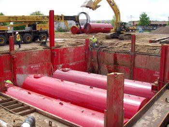 Slide Rail Multiple Tank install
