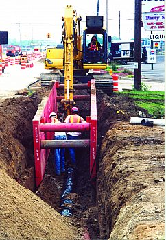 TM Water sewer install