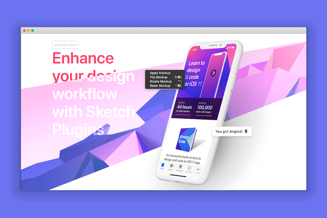 Sketch Course by Design + Code