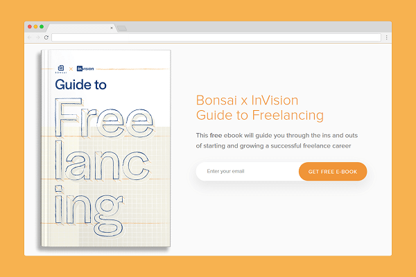Guide to freelancing — Free Ebook from InVision