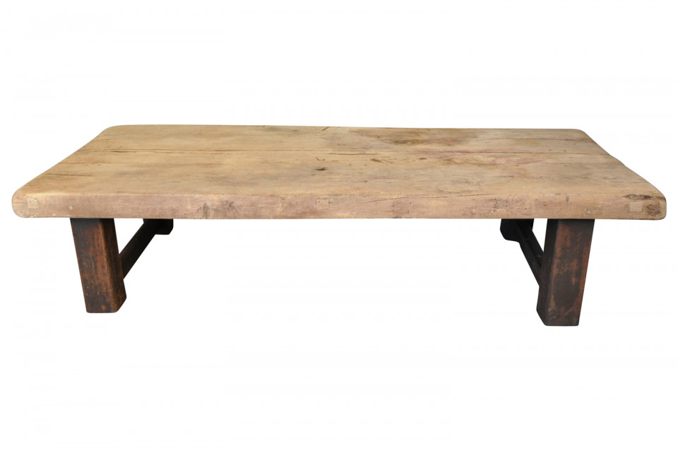 French 19th Century Primitive Coffee Table