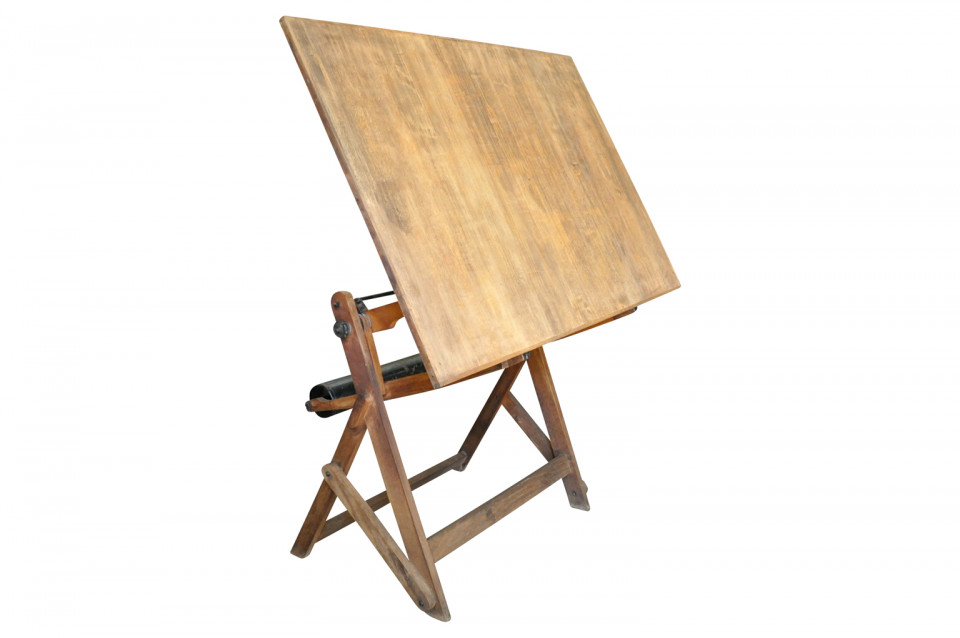 A Wonderful Early 20th Century Drafting Table   Architectu0027s Drawing Table  From France. Soundly Constructed In Beech Wood. Not Only Great To Draw From  But A ...