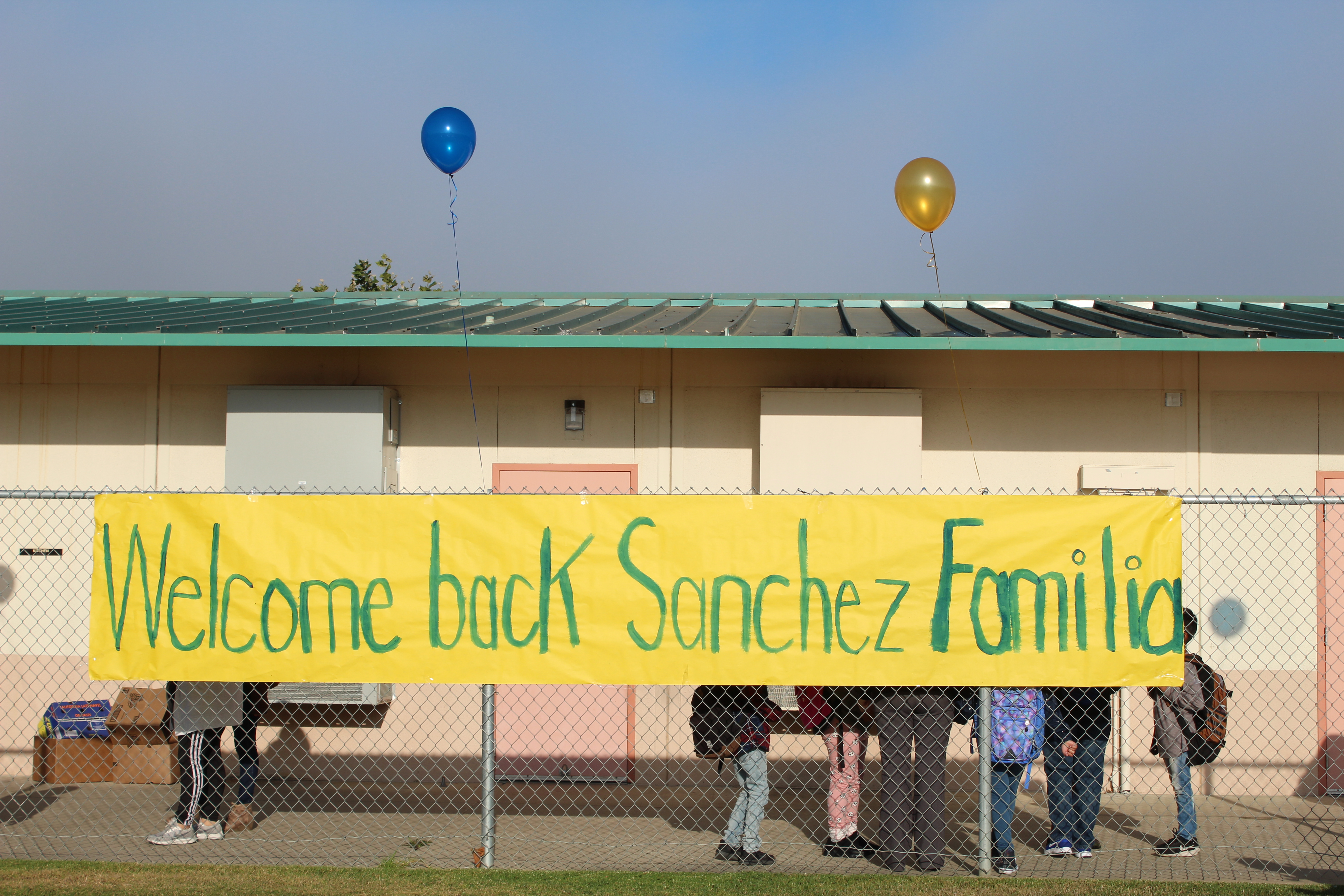 Welcome Back Sanchez Family