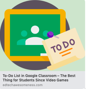 To Do on Google Classroom