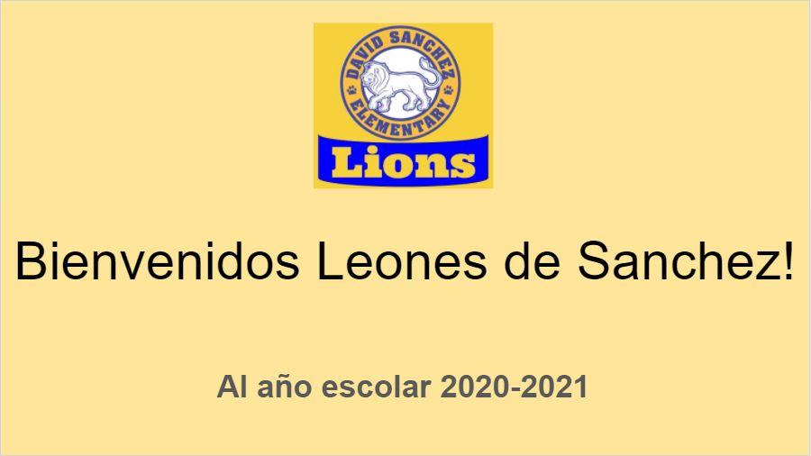 Bienvenidos Leones de Sanchez