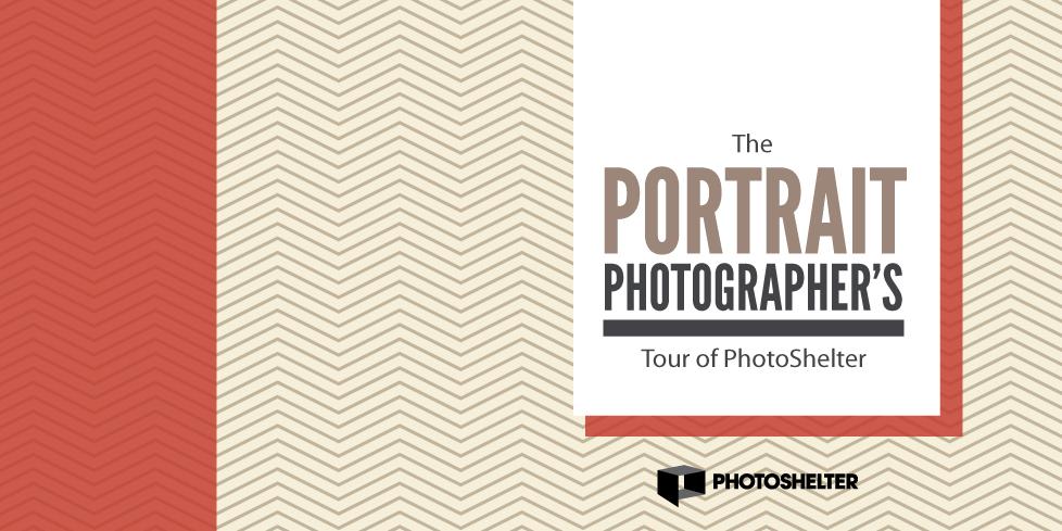 The Portrait Photographer's Tour of PhotoShelter