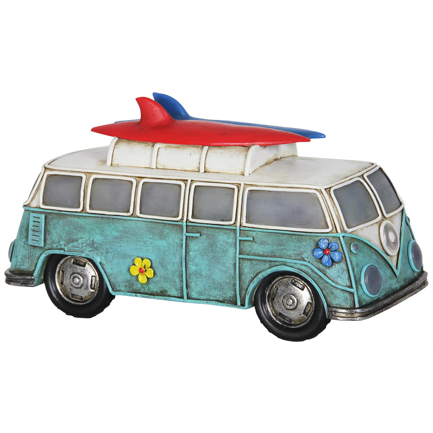 Solar Retro Bus D?cor