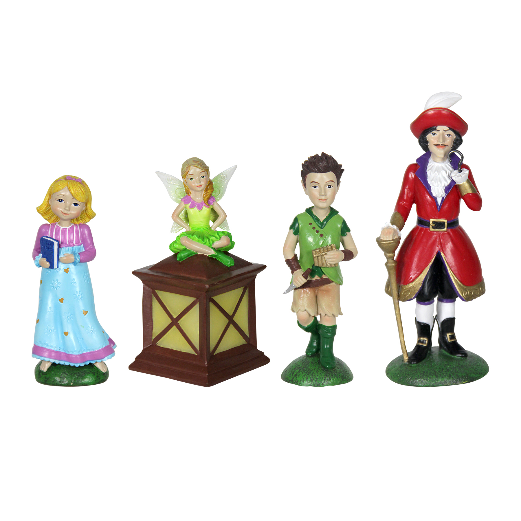 4pc Neverland Mini Fairy Tale Garden Set