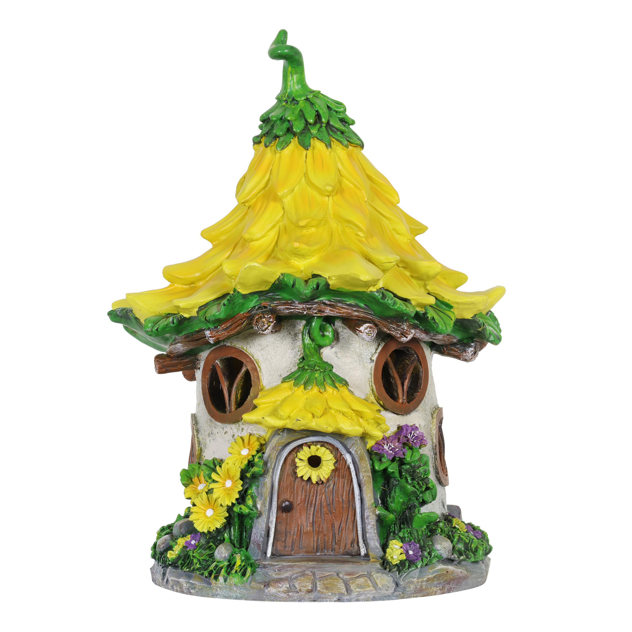 Solar Sunflower Fairy House