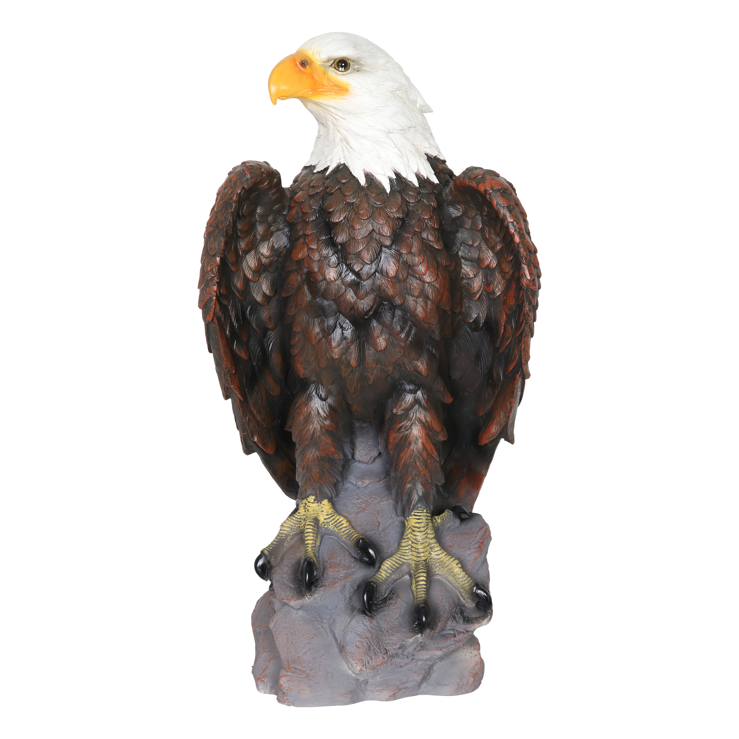 Large Bald Eagle Statue