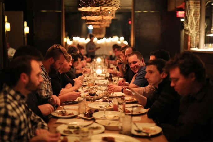 Software Company, Spartan Systems enjoys dinner not proposal paperwork