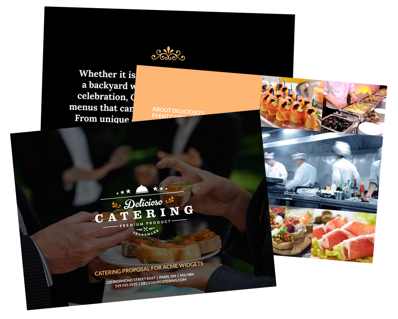Catering Proposal Template Free Sample – Sample Catering Proposal Template