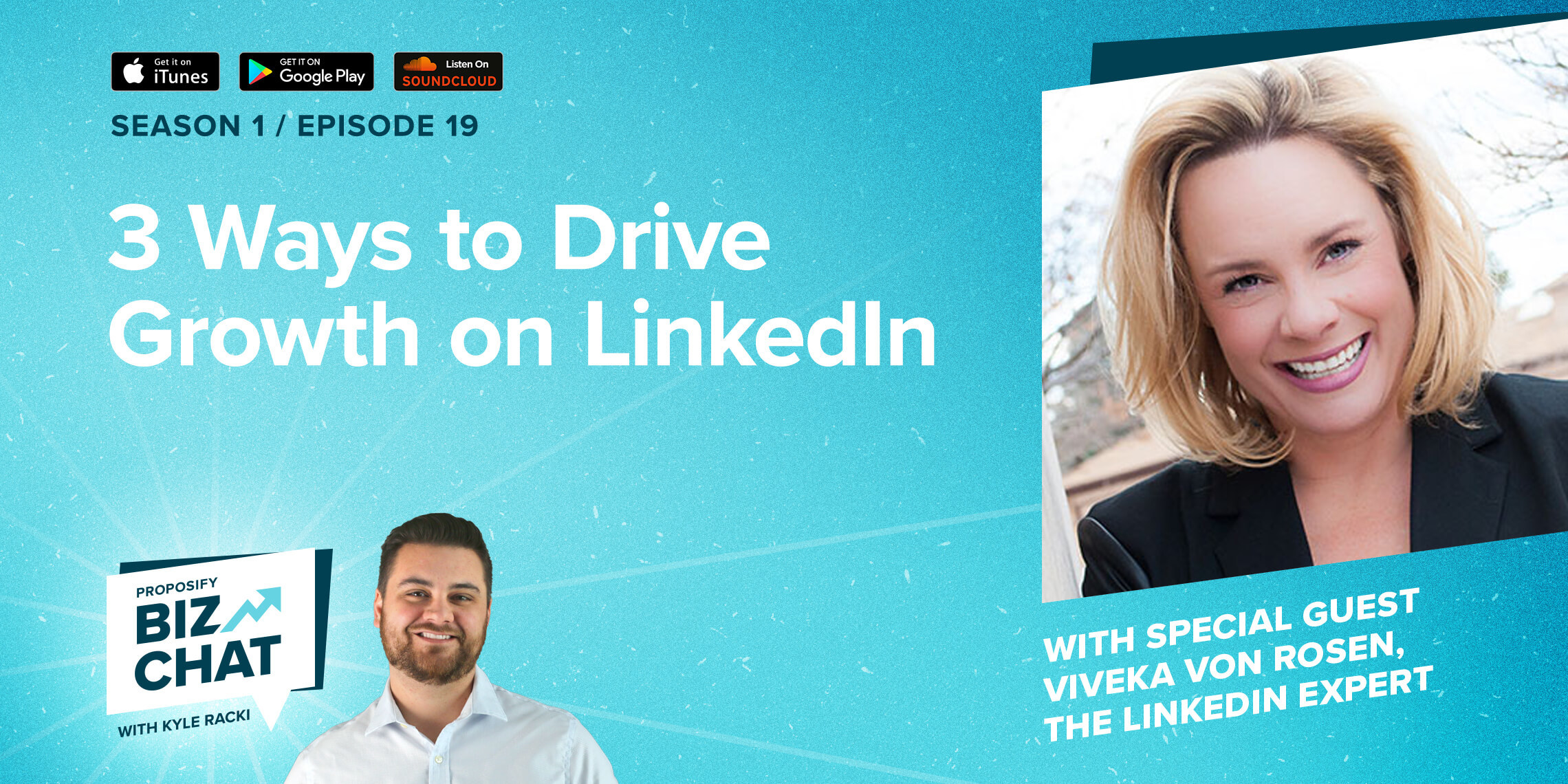 3 Ways to Drive Growth on LinkedIn Ep. 019