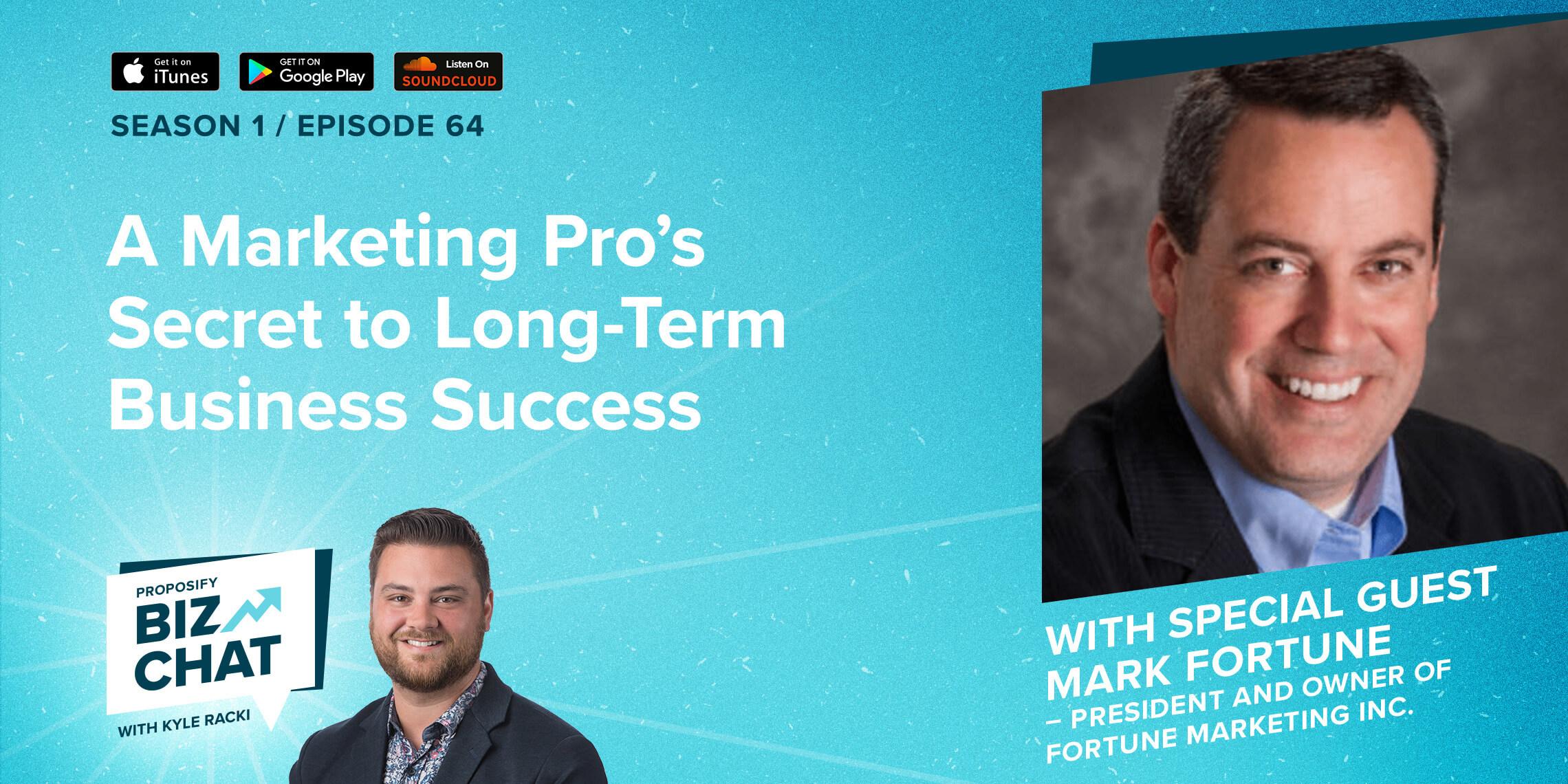 A Marketing Pro's Secret to Long-term Business Success
