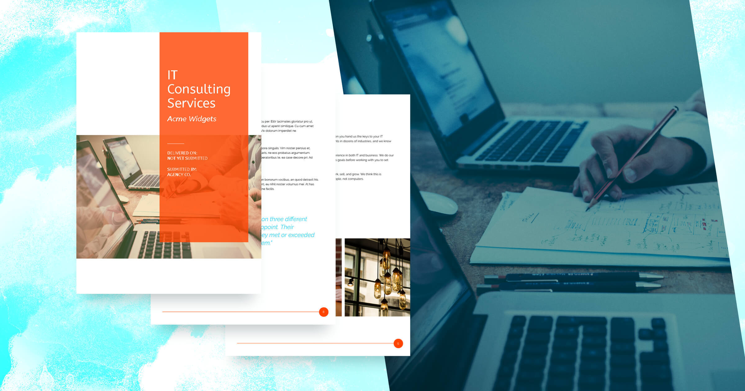IT Services Proposal Template Free
