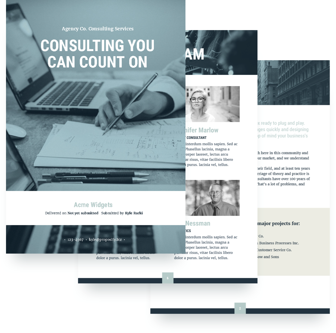 consulting proposal template - Free Proposal Template