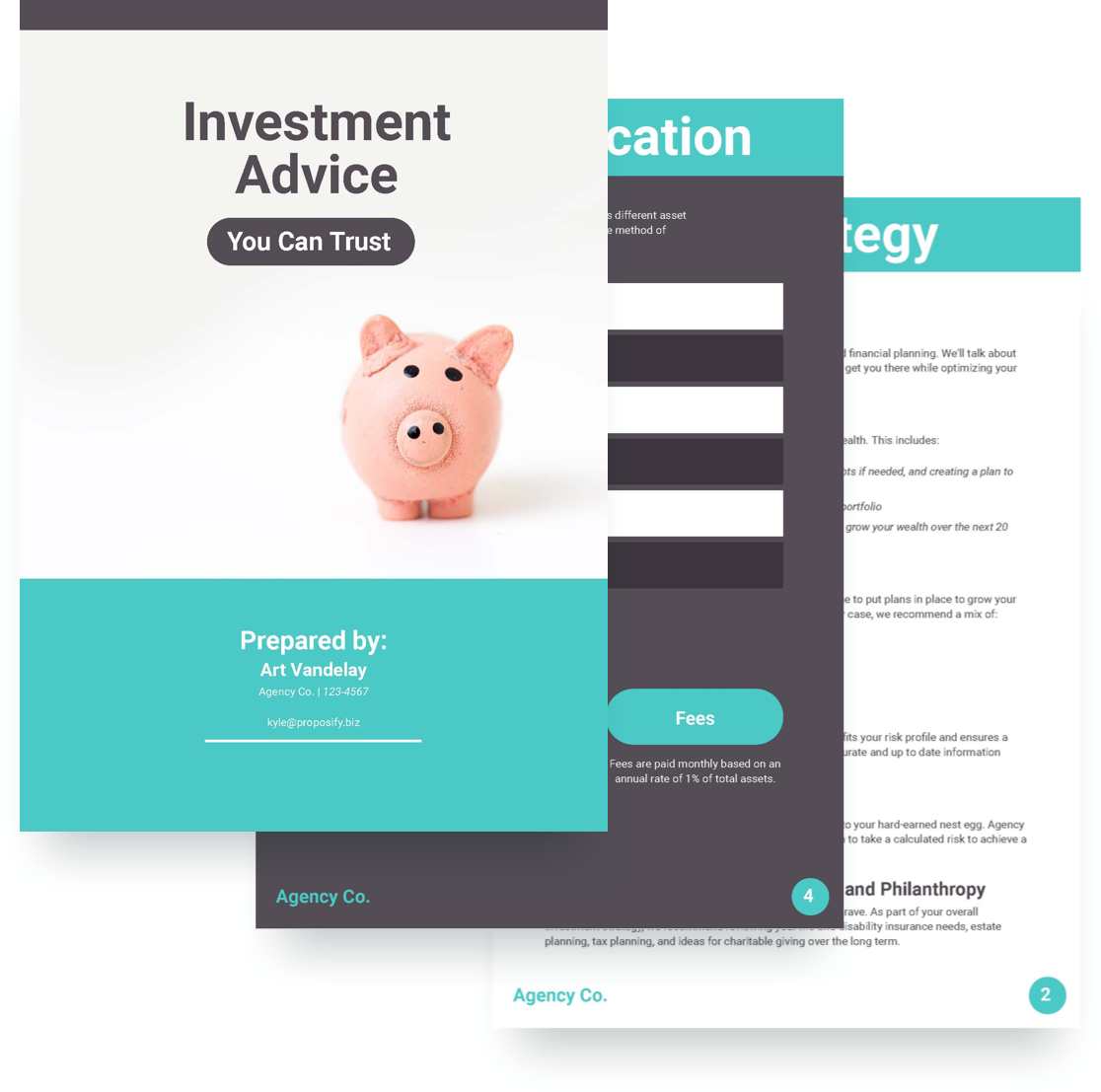Investment Proposal Template - Free Sample