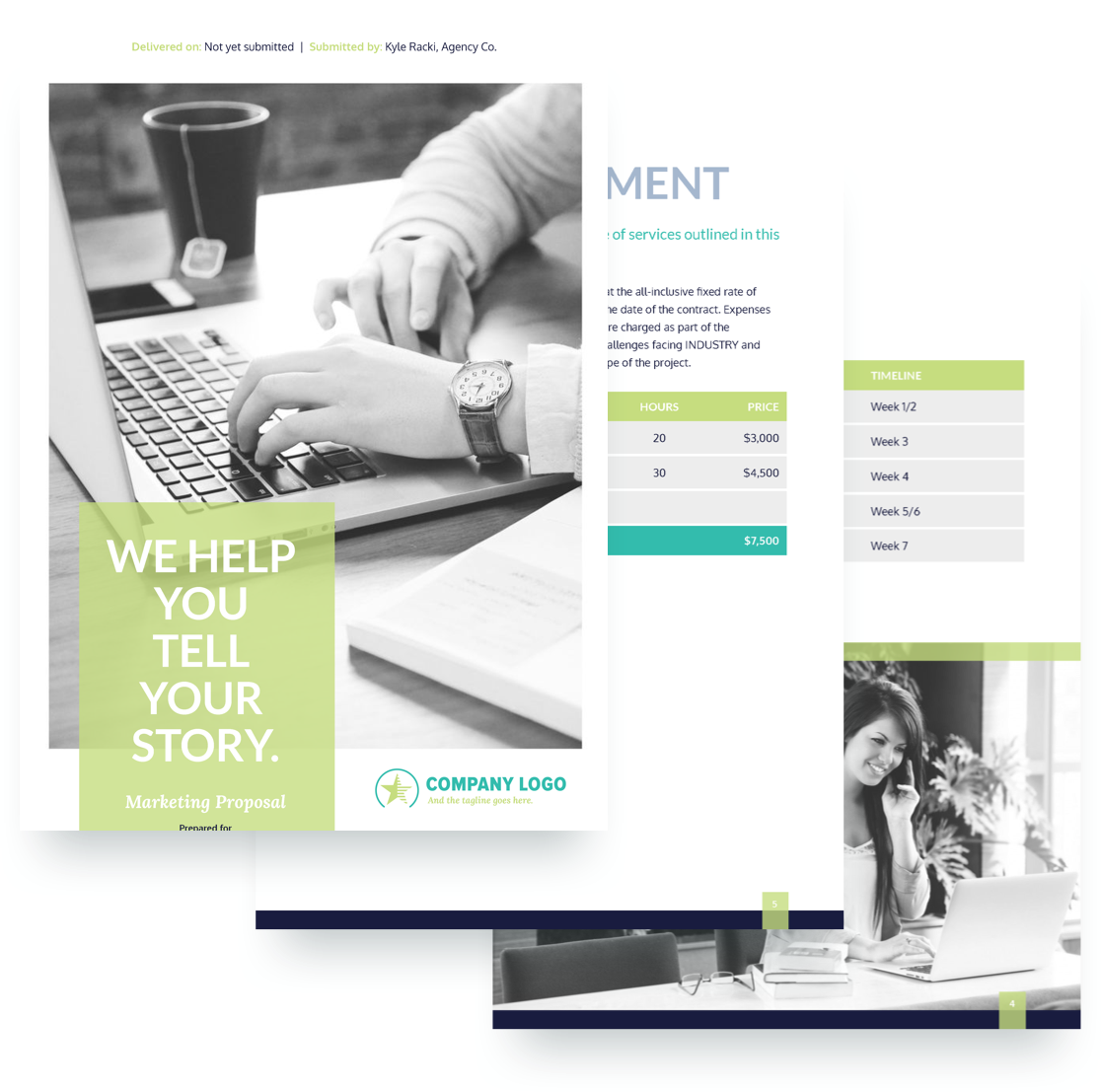 proposal for marketing services template - marketing proposal template free sample