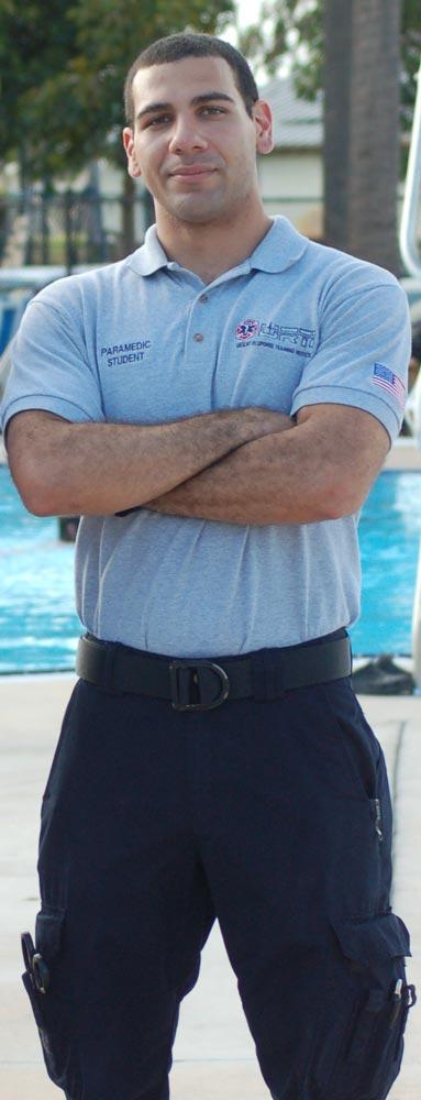 paramedic student in Miami, URTI training