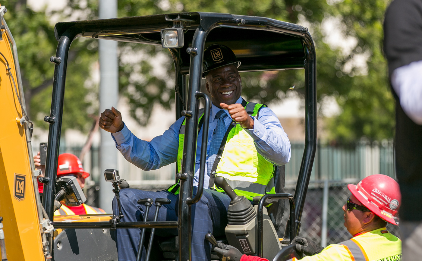 LAFC Owner Magic Johnson