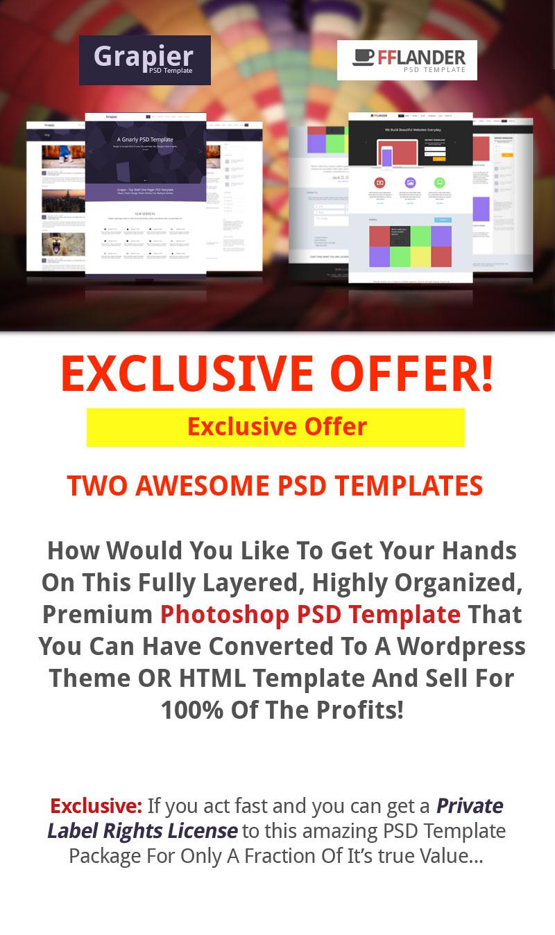 PLR PSD Package