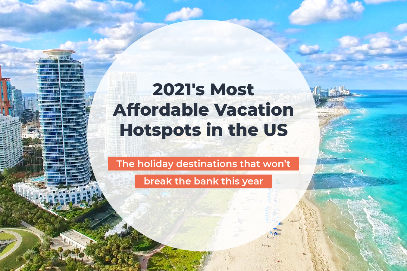 Holiday Destinations that won't break the bank