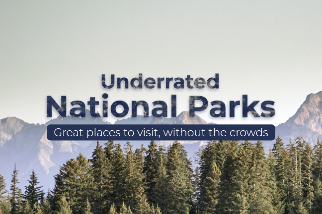 USA's Underrated National Parks