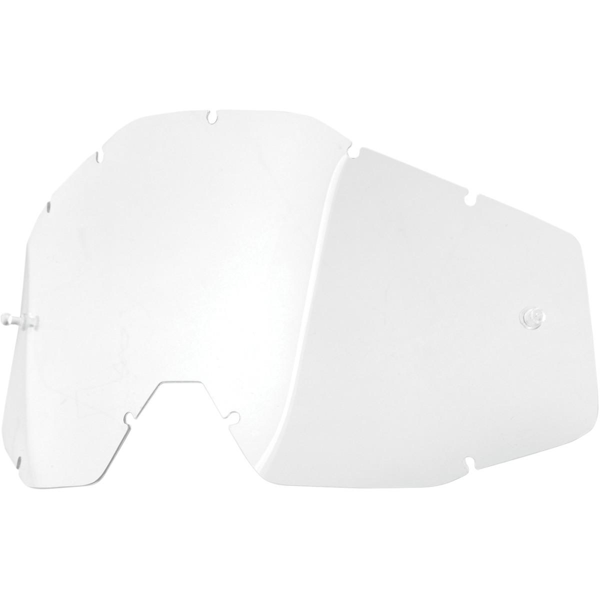100% Replacement Lens for Racecraft/Accuri Goggles