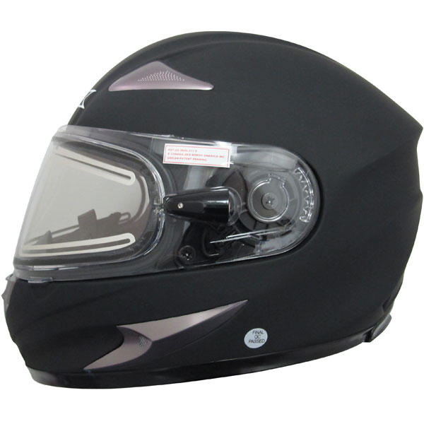 AFX FX-90 Solid Snow Helmet Electric Shield