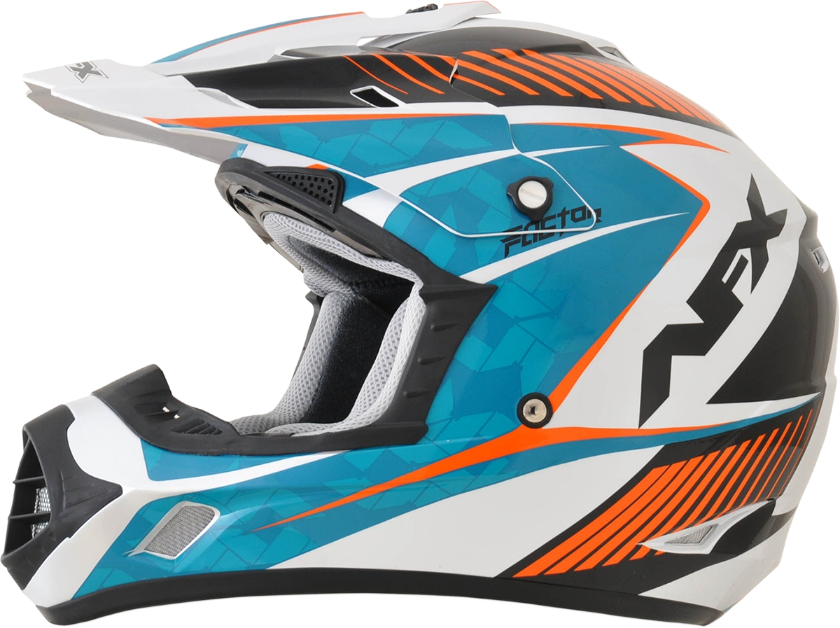 afx kids fx 17 comp helmet for dirt bike motocross atv. Black Bedroom Furniture Sets. Home Design Ideas