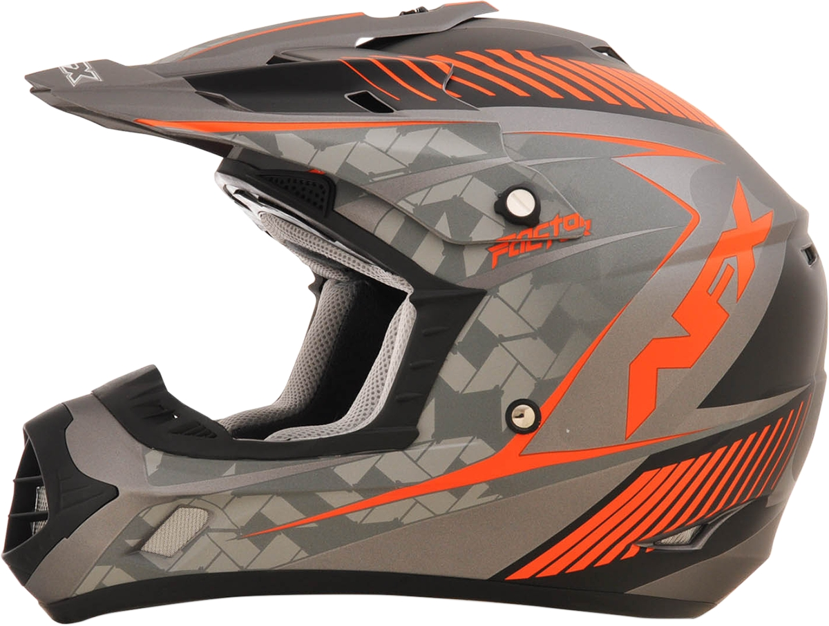 afx fx 17 factor dirt bike off road motocross helmet see. Black Bedroom Furniture Sets. Home Design Ideas