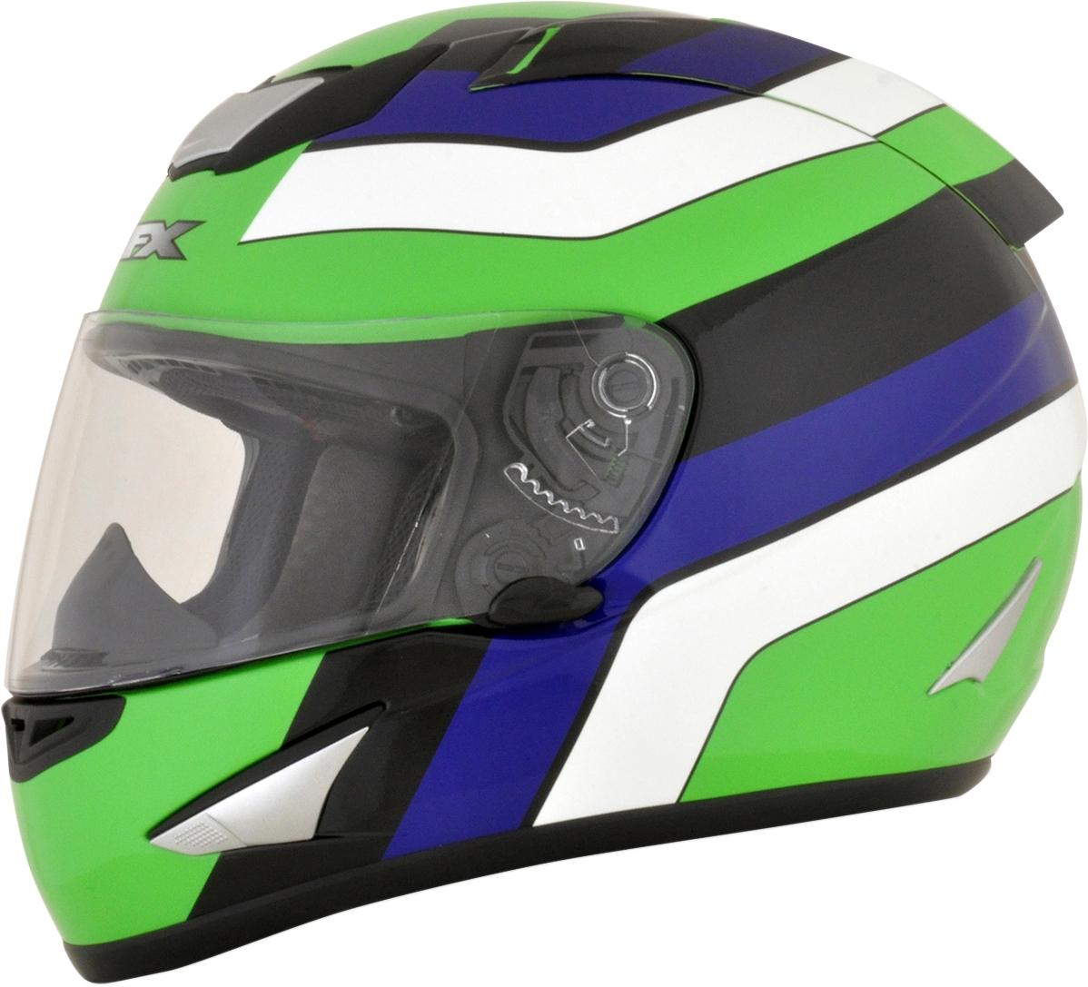 FX95 Full-Face Helmet Vintage Kawasaki Graphics