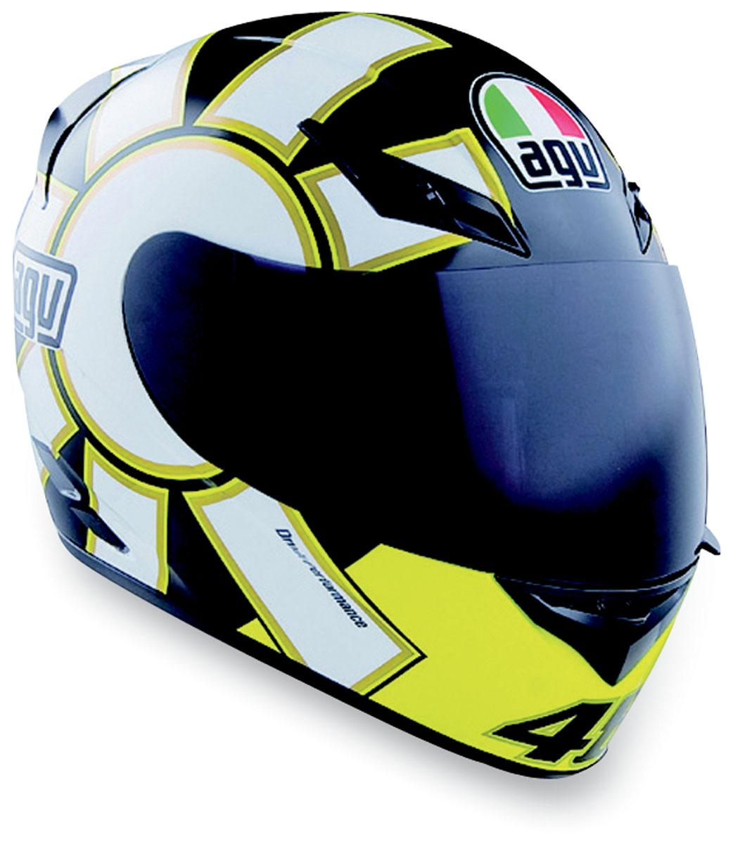 agv k3 gothic valentino rossi replica full face motorcycle. Black Bedroom Furniture Sets. Home Design Ideas