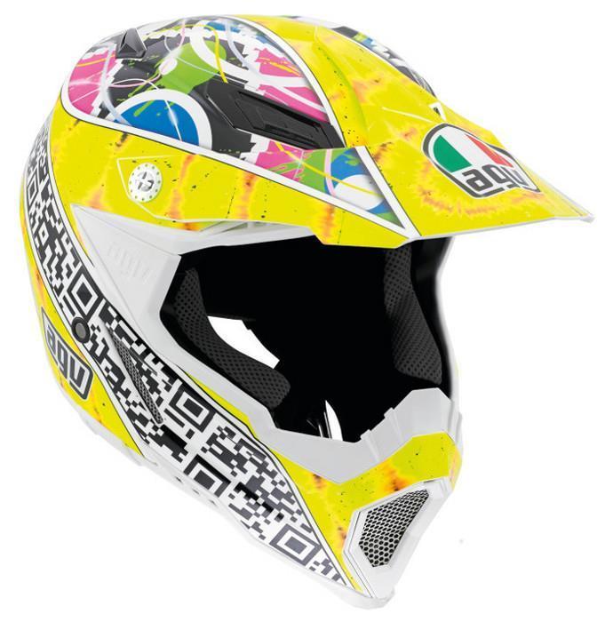 AGV AX-8 EVO Q-Code Helmet