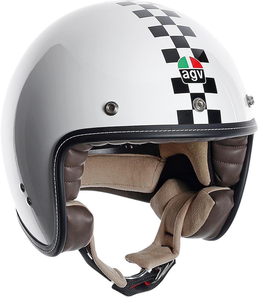 AGV RP60 Checker Open Faced Helmet