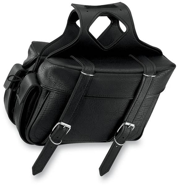 All American Rider Box Style Slant Saddlebag