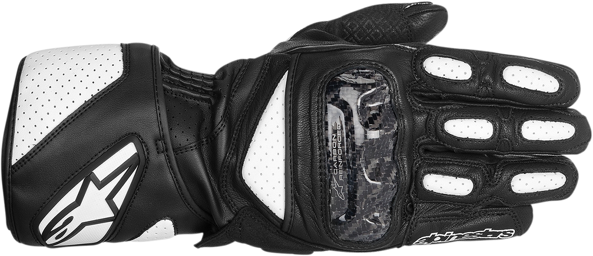 Alpinestars Sp 2 Leather Street Bike Gloves Mens S 3xl Black White