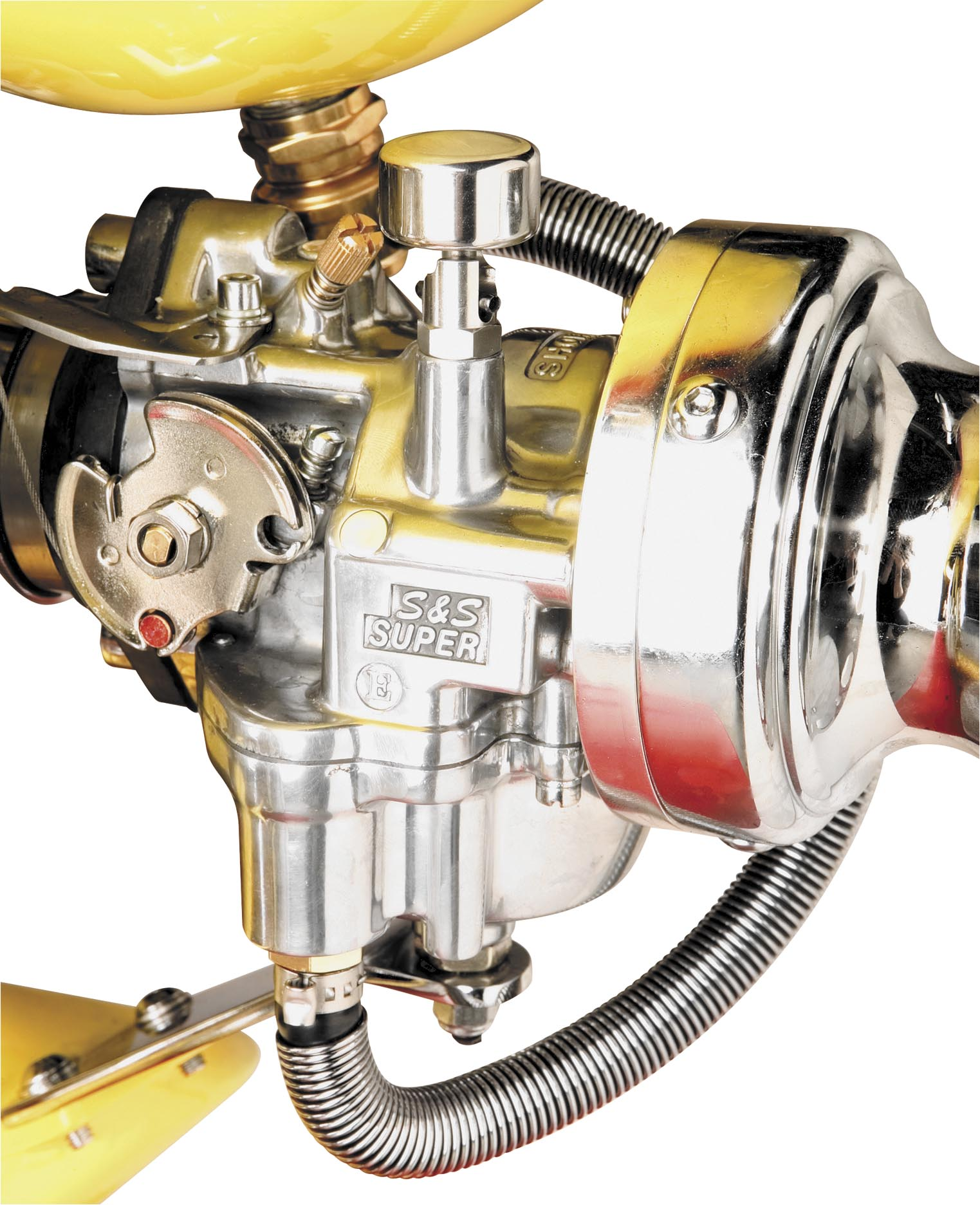 Arlen Ness Choke Assembly for S&S Carbs
