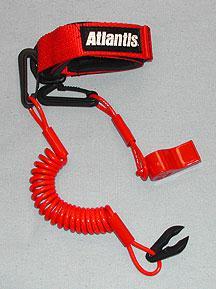 Atlantis Pro Floating Lanyard with Whistle