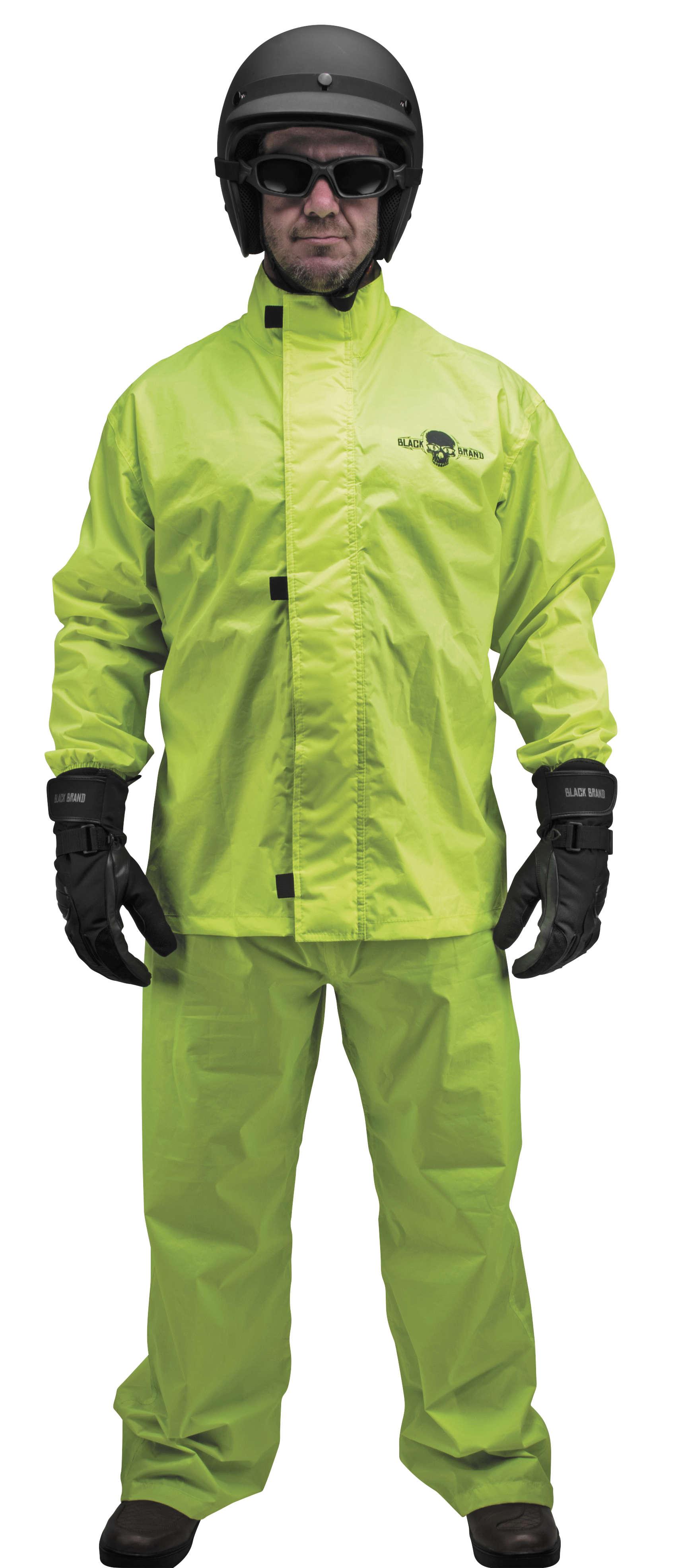 Hi Vis Rain Suit