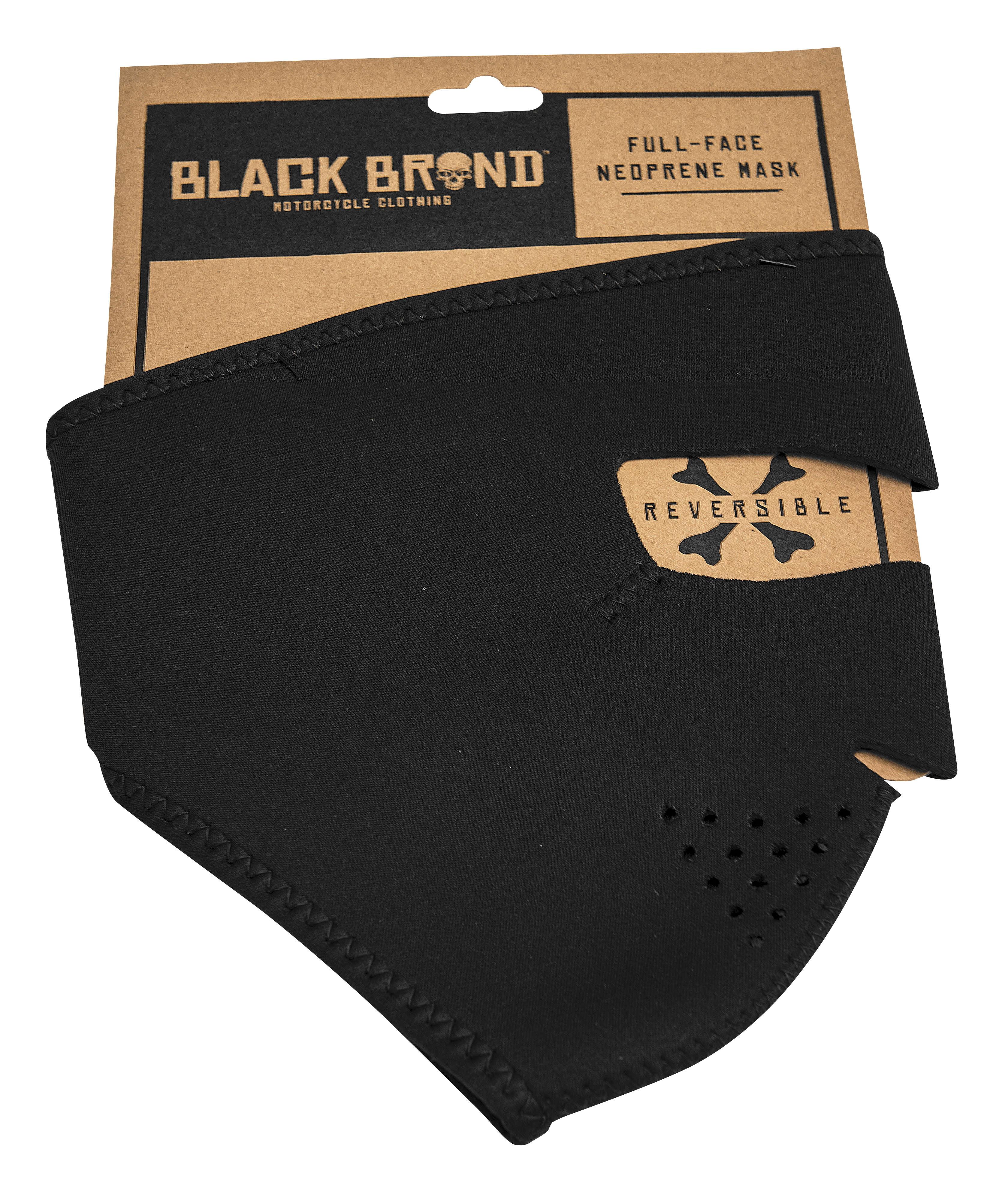 Black Brand Neoprene Full Face Mask