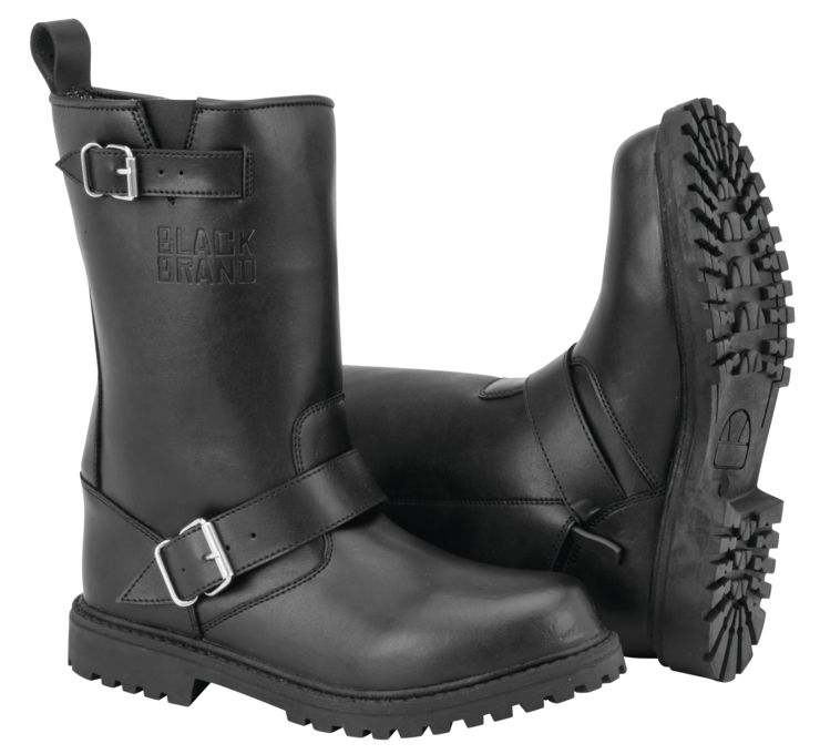 Black Brand Thug Boots