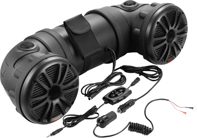 BOSS AUDIO SYSTEMS Off-Road Amplified Tube Speaker System w/Bluetooth