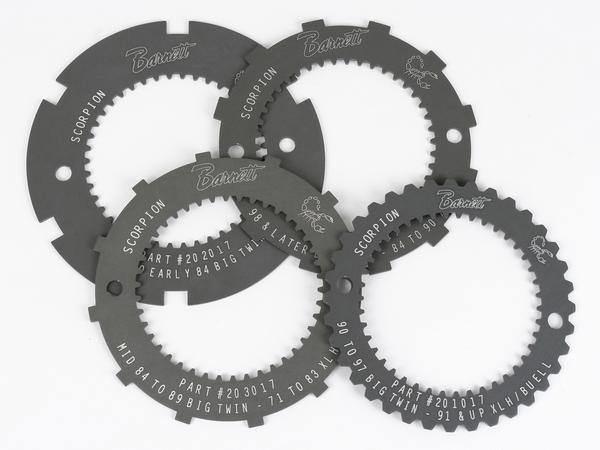 Scorpion Clutch Lock Plates Set of 4